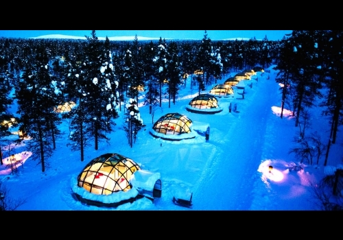 The Northern Lights in Finland - Kakslauttanen 3 days/2 nights